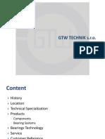 Gtw Technik Presentation en 2012