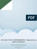 Ap08-Ev05- Etica y Emprendimiento
