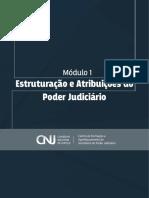 Estruturação e Atribuições do Poder Judiciário