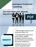 2. Peer Coaching