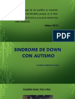 Sindrome de Down Con Autismo