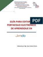 Guia de Edición Del Portafolio