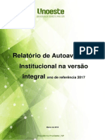 Relatorio Integral MEC CPA 2017