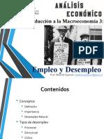 Macro 3 - Desempleo