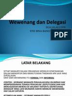 Wewenang Dan Delegasi