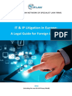 IT IP Litigation in Europe Guide Book 2016