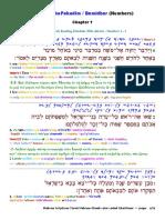 Interlinear Numbers