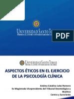 Aspectos eticos en el ejecicio de la psicologia clinica.pptx.pdf
