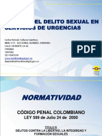Manejo Del Delito Sexual en Servicios de Urgencias