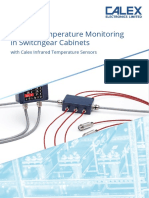 Busbar Joints Temperature Monitoring Infrared Sensors 1