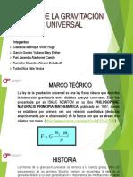 Ley de La Gravitación Universal Utp v02
