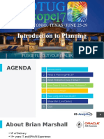 Planning Presentation Introduction to Planning