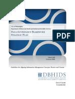 OCIO DBHIDS Data Governance Framework Strategic Plan v2