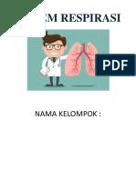 Sistem Respirasi (Pernapasan) Pada manusia