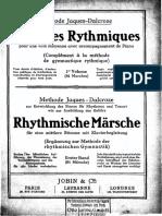 Método Jaques-Dalcroze Vol. 1