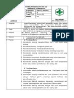 SOP kontrol peralatan dan bukti pelaksanaan.docx