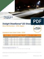 Dialight StreetSense StreetLight Stock APAC Flyer UL-CE-RCM