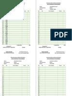Rencana Kerja Harian Karyawan 19