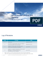 A320 EASA PLACARD REQUIREMENT
