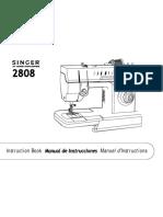 Singer Manual 2808