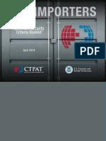 CTPAT U.S. Importer Booklet 2019