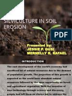 Silviculture in Soil Erosion Ppt