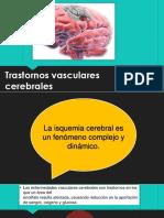 trastorno vasculares cerebrales