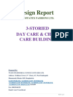 DESIGN REPORT (3-Storied Child Care & Health Care Building)