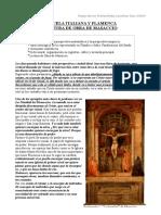 ESCUELA ITALIANA Y FLAMENCA LECTURA DE OBRA DE MASACCIO