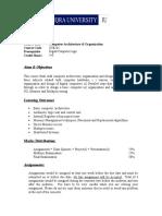 Computer Architecture & Organization  (1).doc