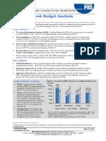 State Budget Analysis - Andhra Pradesh