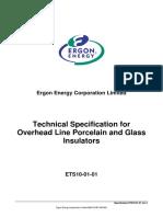 Insulator Porcelain and Glass Insulators