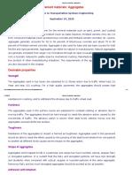 Pavement Materials_ Aggregates