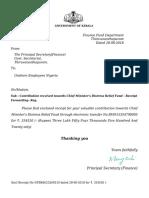 Cmdrf Donation Receipt