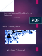 Introduction and Classification of Polymers