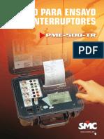 Catalogo PME 500 TR