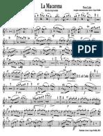 La Macarena - 02 Flauta 1º