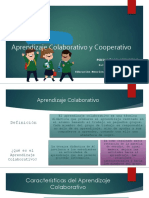 Aprendizaje Colaborativo y Cooperativo