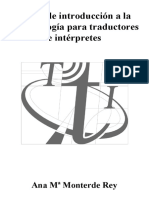 Introducere traducere limba spaniola