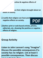 Positive & Negative Effects of Religion..pptx