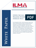 Osha Revised Walking Working Surfaces Rule 1