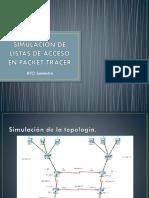 Simulacion de Listas de Acceso en Packet Tracer