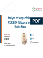 Webinaire#1-Comment Enrichir Votre BI Avec l'Analyse en Temps Réel Des CDR via La Stack Elastic