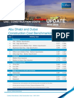 UAE Construction Costs Update May 2018