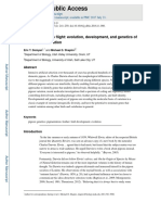Piogeonetics Takes Flight Evolution,Development and Genetics Intraspecif Variation