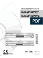 Samsung DVD-VR331 Manual Uso