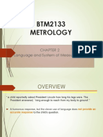BTM2133-Chapter 2 Language and System of Measurement