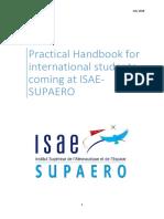 SUPAERO Handbook for International Students 2018
