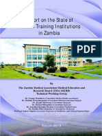 ZMA Report on the state of Medical Training Institutions in Zambia.pdf