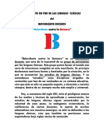 Manifiesto BcQ Castellano
